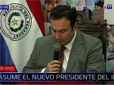 Andrés Gubetich asume como presidente del IPS