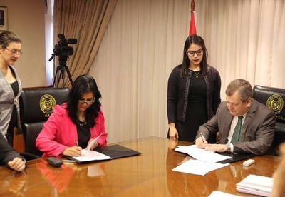 CSJ suscribe convenio con Universidad Iberoamericana