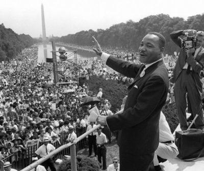 """Aniversario del famoso discurso de Martín Luther King, """"Tengo un sueño""""."""