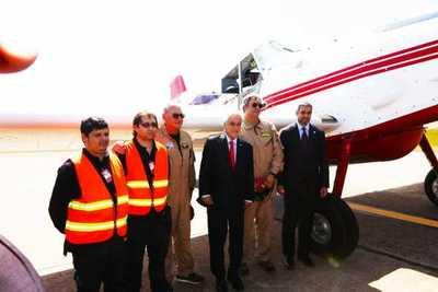 Presidente agradece solidaridad de Chile por asistencia para combatir incendios en el Chaco