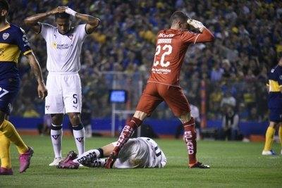 La escalofriante lesión de Christian Cruz
