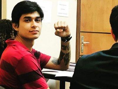 Tribunal absolvió a líder estudiantil