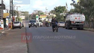 CONTROLES EN EL TRÁNSITO DE CORONEL BOGADO SE INTENSIFICAN