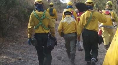 Por tierra y aire siguen combatiendo seis focos de incendio en el Chaco