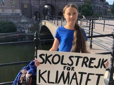 ¿Quién es Greta, la adolescente que lucha contra el cambio climático?