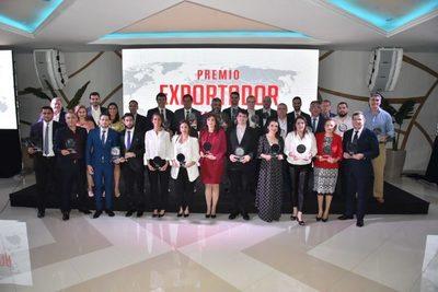 Mayores exportadores fueron galardonados