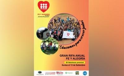 Fe y Alegría realizará segunda venta masiva de Rifa Anual 2019