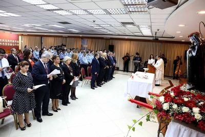 Misa en celebración a Santa Rosa de Lima