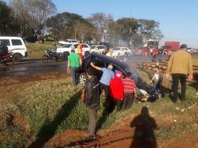 Dos muertos en accidente en CDE