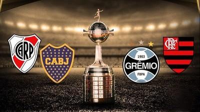 Así quedó el cuadro semifinal de la Libertadores