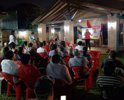 Luqueña lanza su precandidatura a la intendencia 2020-2025 •