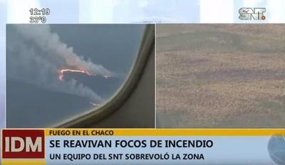 Se reavivan llamas en el Chaco