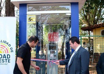 Habilitan cajero automático en municipalidad de CDE
