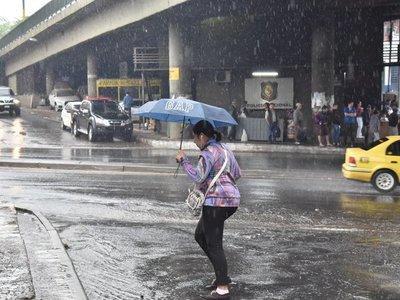 Anuncian intensas lluvias para este fin de semana
