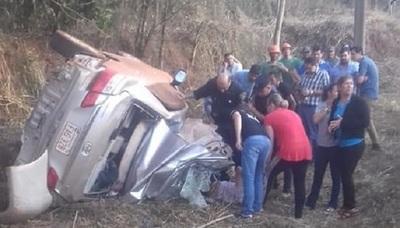 Accidente deja varios muertos en Francisco Caballero Álvarez