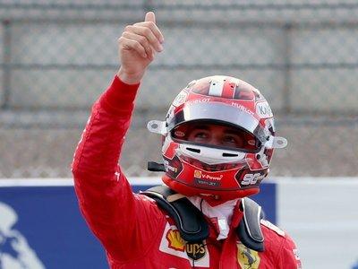 Leclerc logra su tercera 'pole' y saldrá primero en Spa-Francorchamps