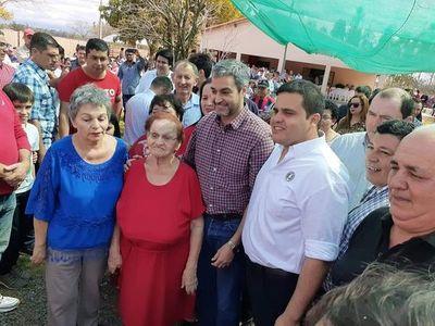 Visita sorpresa de Abdo en Guairá
