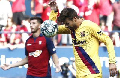 Barcelona tropieza con el Osasuna