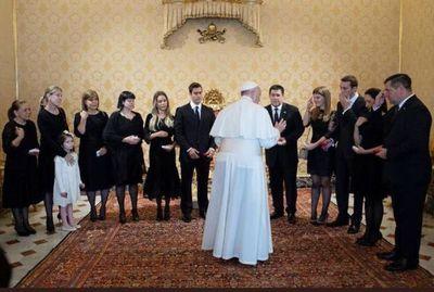 HC se reunió, otra vez, con el Papa