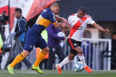 River y Boca igualan sin goles en el Monumental