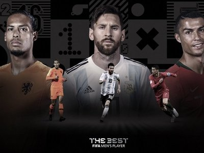 "Finalistas al premio FIFA ""The Best"""