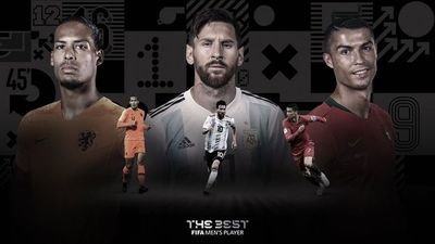 """Los finalistas al premio FIFA """"The Best"""""""