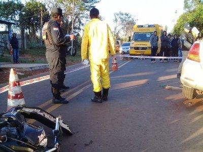 Villarrica: Pareja fallece en accidente de tránsito