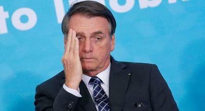 Imagen negativa de presidente brasileño Bolsonaro sube a 38%