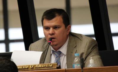 Dionisio Amarilla pretende su reincorporación a la Cámara de Senadores