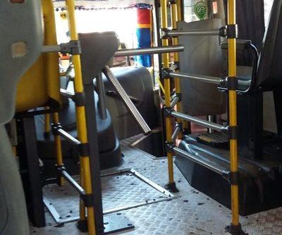 Buses siguen operando con molinetes