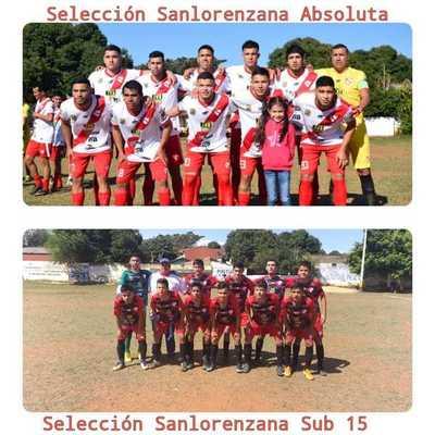 Selecciones Sanlorenzanas: Sub 15 con gran victoria y la absoluta con un empate