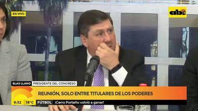 Llano solicitó publicación de su declaración jurada