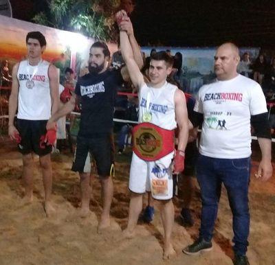 Gustavo Benítez gana el título Regional en Concepción
