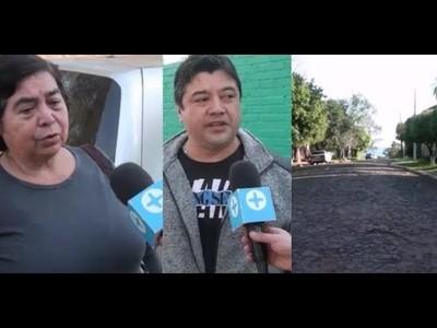 VECINOS DEL B° KENNEDY APOYAN ADQUISICIÓN DE PLANTA ASFÁLTICA