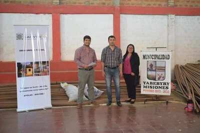 EBY entrega aportes para el servicio de agua potable en Yabebyry y Coratei