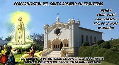 HOY / Organizan multitudinario encuentro de peregrinación y rezo del Santo Rosario