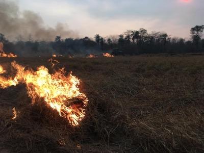 Alto Paraguay y Boquerón fueron declarados en emergencia ambiental