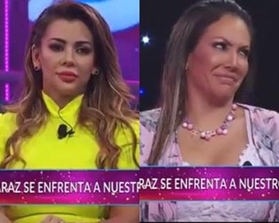 Ruth Alcaráz y Marly Figueredo no quisieron abrazarse