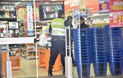 Robaron caja fuerte con botín de G. 52 millones de la cadena de Citymarket •