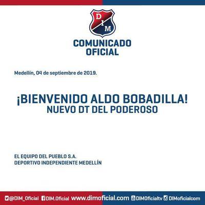 El DIM oficializó a Bobadilla