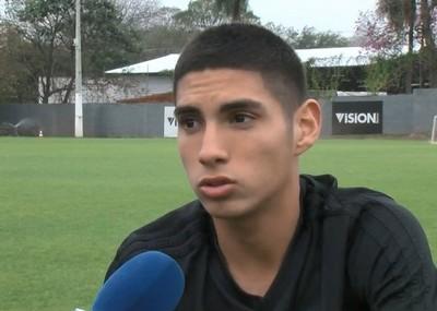 Cómo cambió la vida de Erik López tras debutar en Olimpia