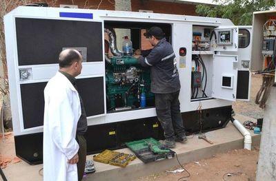 Generador para evitar prolongados cortes en hospital