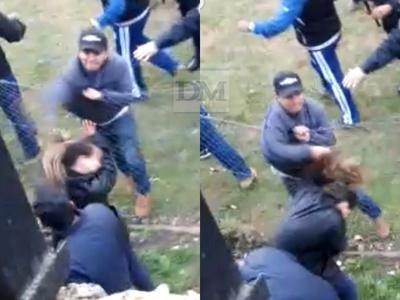 Misiones; Supuesto policía le propinó un cachetazo a una mujer, tras un partido de fútbol