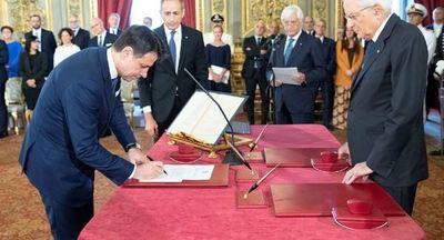 Presta juramento nuevo Gobierno de Italia