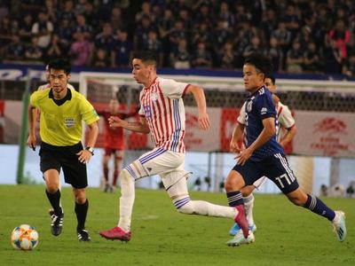 Resumen del amistoso: Japón 2-0 Paraguay