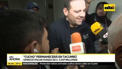 """""""Cucho"""" permanecerá en Tacumbú"""