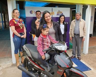 Expo Norte entregó la sexta motocicleta