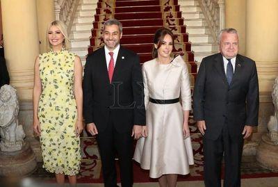 Ivanka Trump llegó a Palacio de Gobierno