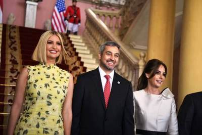 Ivanka Trump ya está en Palacio de Gobierno
