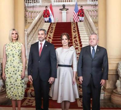Asesora del Presidente de los EE.UU. llega al Palacio de Gobierno para oficializar apoyo a mujeres emprendedoras